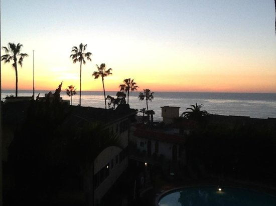 Grande Colonial La Jolla:                   Sunset from the room