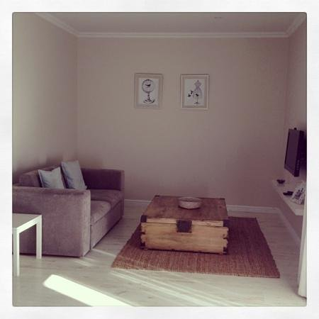 The Robberg Beach Lodge: Sofaecke