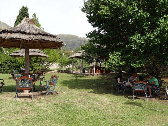 Hotel y Duplex Rincon del Valle:                   El parque