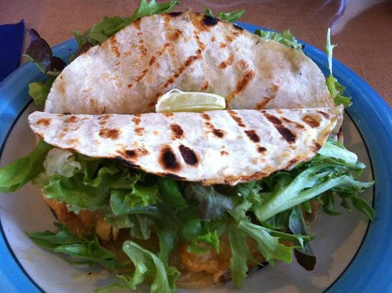 Sabroso: Fish tacos