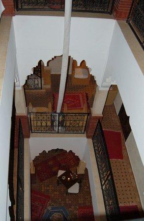 Riad Andalla:                   courtyard