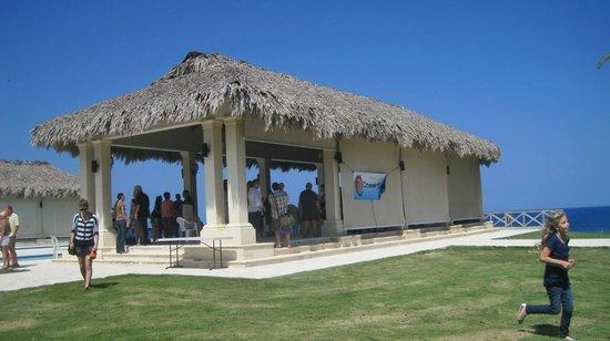OceanSide Christian Fellowship:                                     The church meeting area