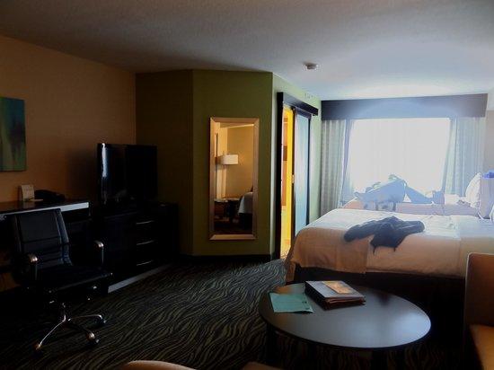 Holiday Inn Little Rock West - Chenal Pkwy:                   Modern Hip Bedroom