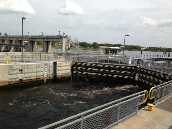 Alva, FL:                                     lock letting water in.