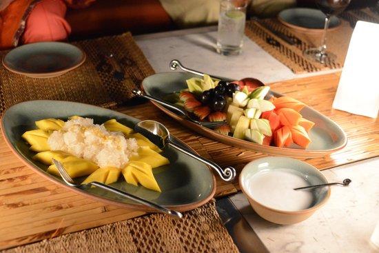 Chakrabongse Villas:                                     Desserts