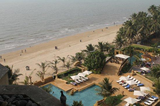 JW Marriott Mumbai Juhu:                   Hermosa vista desde la habitación