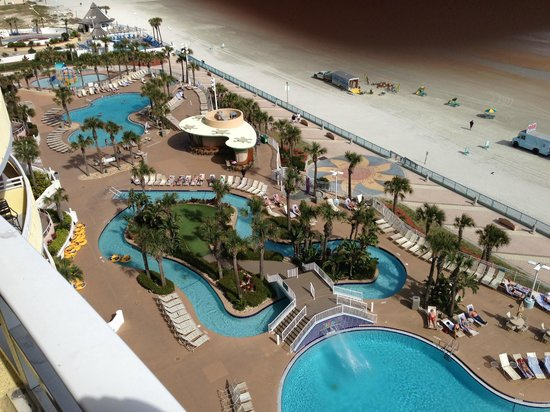 Wyndham Ocean Walk:                   view from the balcony