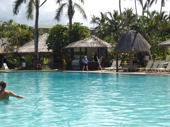 Outrigger Fiji Beach Resort:                   Pool Area