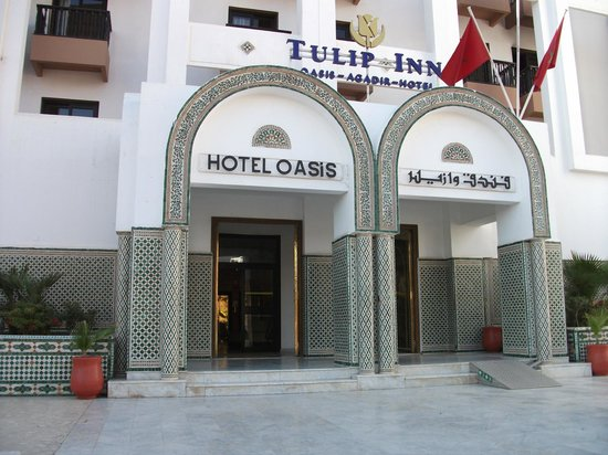Oasis Hotel Agadir:                   Entrée de l' hôtel