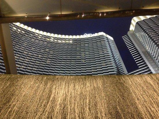 ARIA Resort & Casino: Looking up