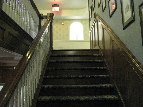 Liberty Hotel, an Ascend Collection hotel:                   Staircase to Second Floor