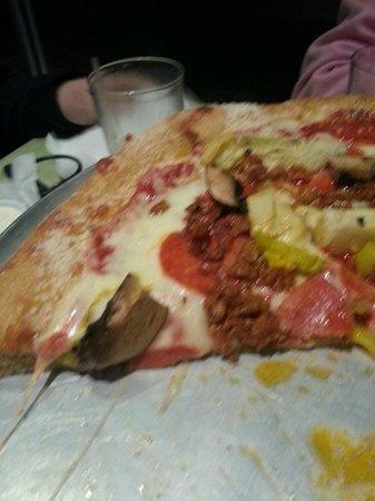 Mellow Mushroom:                   Make your own pizza, YUM!