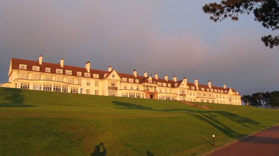 Trump Turnberry, A Luxury Collection Resort, Scotland:                   Turnberry at sunset