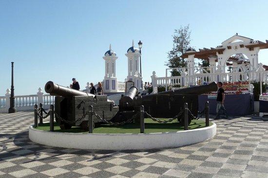 Hotel Mediterraneo Benidorm :                   place cannons