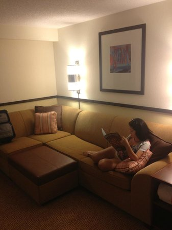 Hyatt Place Lake Mary/Orlando-North:                   Big Comfy Sofa