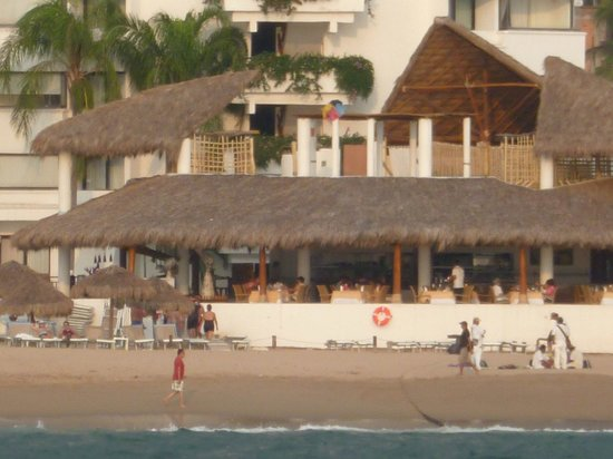 Buenaventura Grand Hotel & Great Moments All Inclusive:                   Restaurante con vista al mar