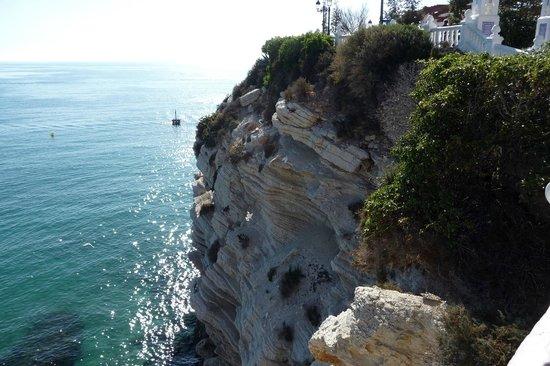 Hotel Mediterraneo Benidorm :                   rocher centre plage bénidorm