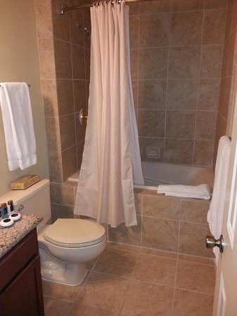 The Historic Powhatan Resort: master bath