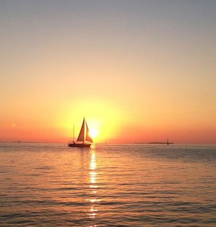 Sunset Key Cottages, A Luxury Collection Resort, Key West:                   sunset on Sunset Key