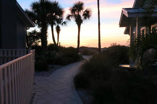 Gulfside Resorts:                   Beautiful pathway to beach.