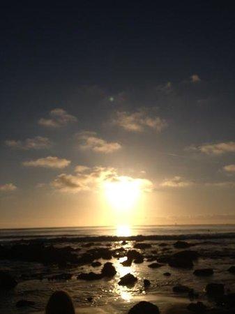 St. Regis, Monarch Beach:                   sunset 10 minute walk from hotel