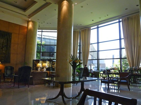 Park Tower, A Luxury Collection Hotel, Buenos Aires:                   The sitting area of the Park Tower