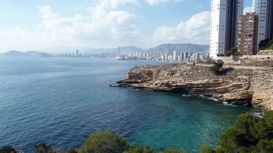 Hotel Mediterraneo Benidorm :                   vue de la montagne