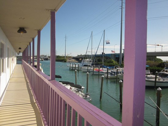 Smugglers Cove Resort and Marina:                                     View from Entryway of Marina