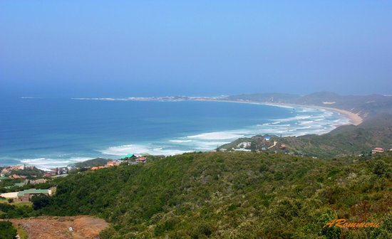 Brenton on Sea:                   View from above