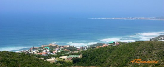 Brenton on Sea :                   View from above