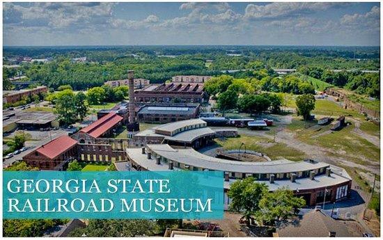 Georgia State Railroad Museum at Tricentennial Park