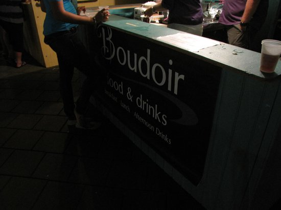Boudoir's booth at Taste of Bonaire