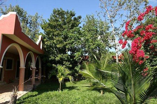 Hacienda Hotel Santo Domingo: Garten