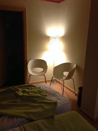 """Hotel Ciutat de Barcelona:                   """"Sitting area"""""""