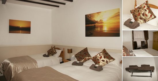 Melcombe Villa Guest House: Room2, Family Room