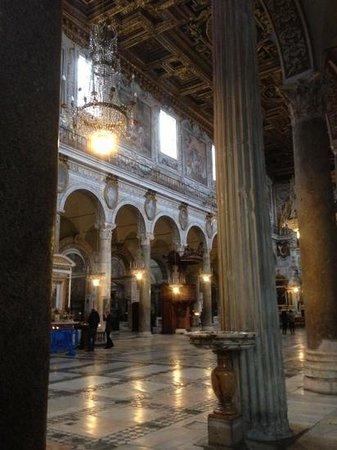 Kirche Santa Maria in Aracoeli:                   wow!