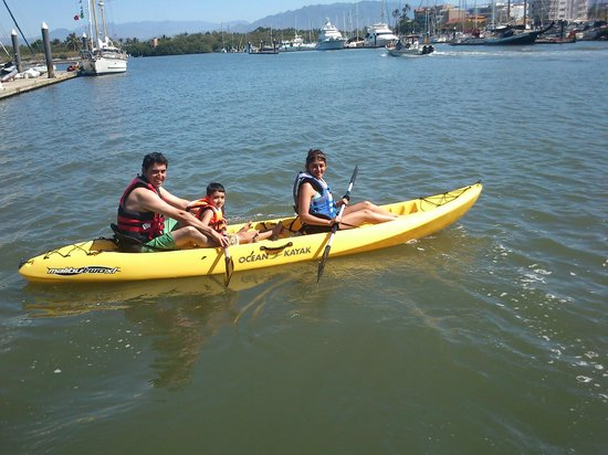 Paradise Village Beach Resort & Spa: Actividad Kayak