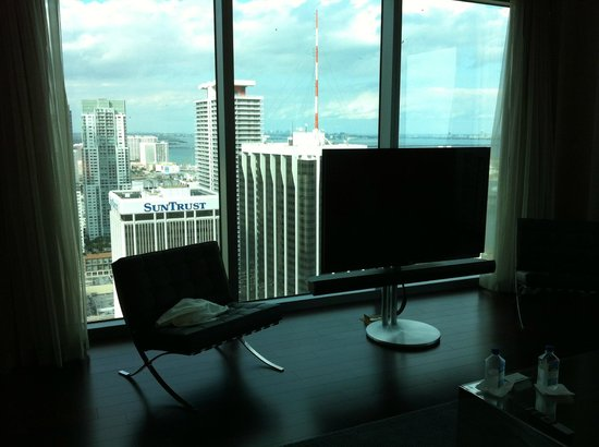Hotel Beaux Arts Miami:                   Living Room view