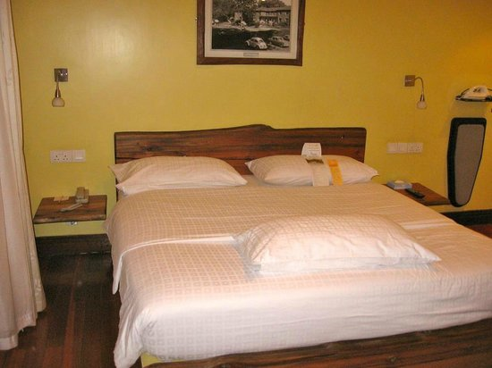 Fairview Hotel: Comfortable bed