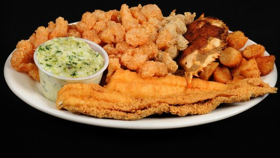 Pier 41 Seafood: Fried Combination Platter