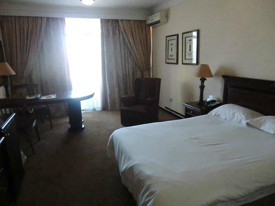 Capetonian Hotel:                   chambre