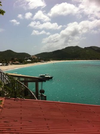 Eden Rock - St Barths:                   View from Greta Garbo suite