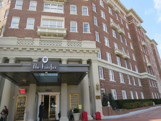 The Fairfax at Embassy Row:                   The Fairfax-Hotel View
