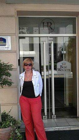 بست ويسترن هوتل ريفيرا:                   вход в отель BEST WESTERN Hotel Riviera                 