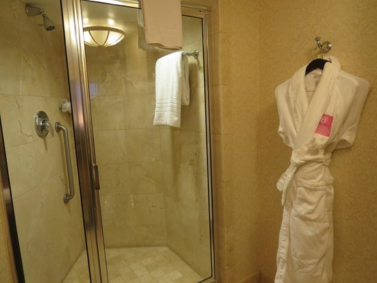 The Fairfax at Embassy Row, Washington D.C.:                   Grand Deluxe King Room-Shower
