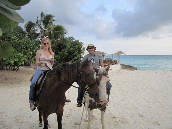 Belmond Cap Juluca:                   horse back riding at sunset!