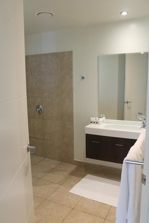 Silverstream Lodge:                   Spacious ensuite