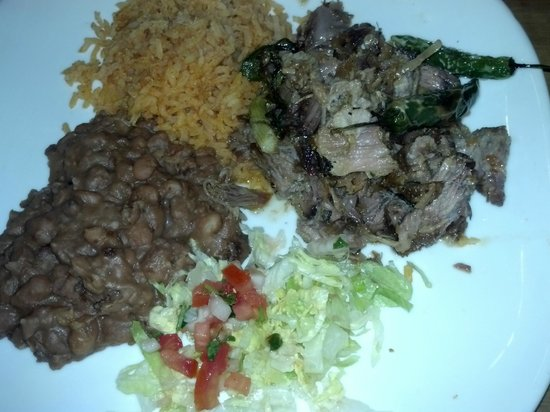 Carnitas with Black Beans - Agave
