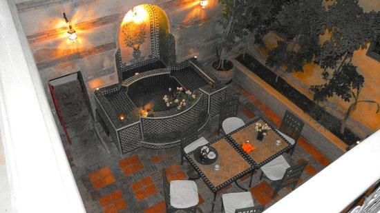 Riad Dar Nimbus:                   Premier patio