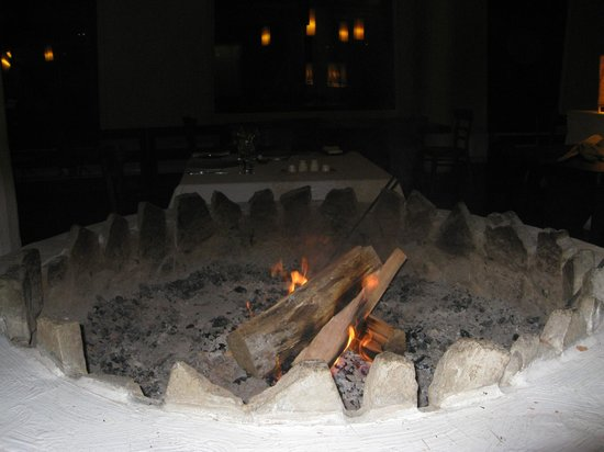 Remota:                   One of the fire places